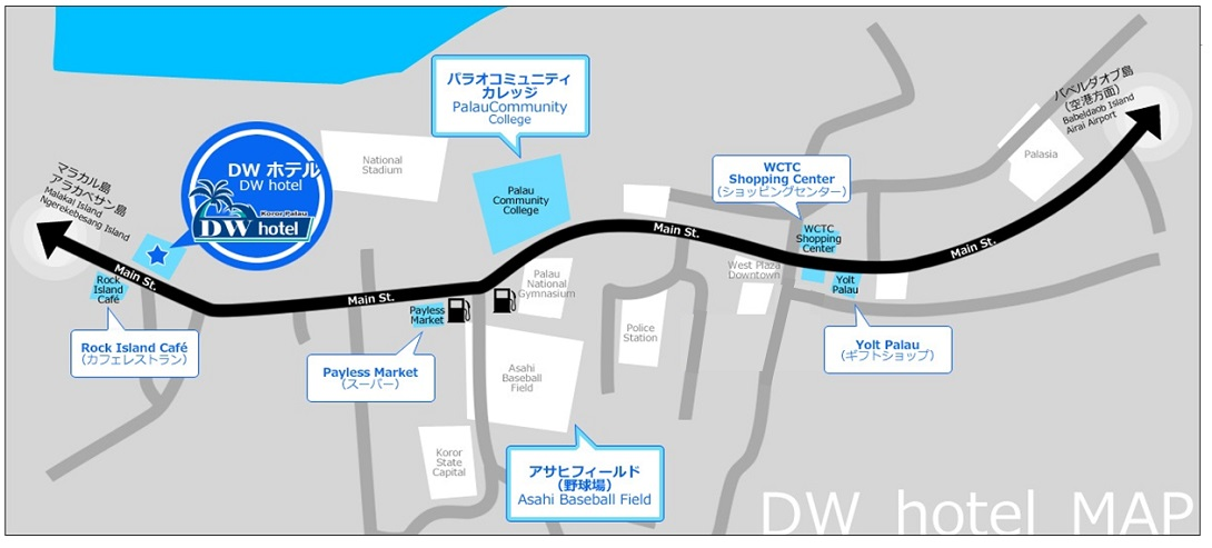 DWmotel MAP